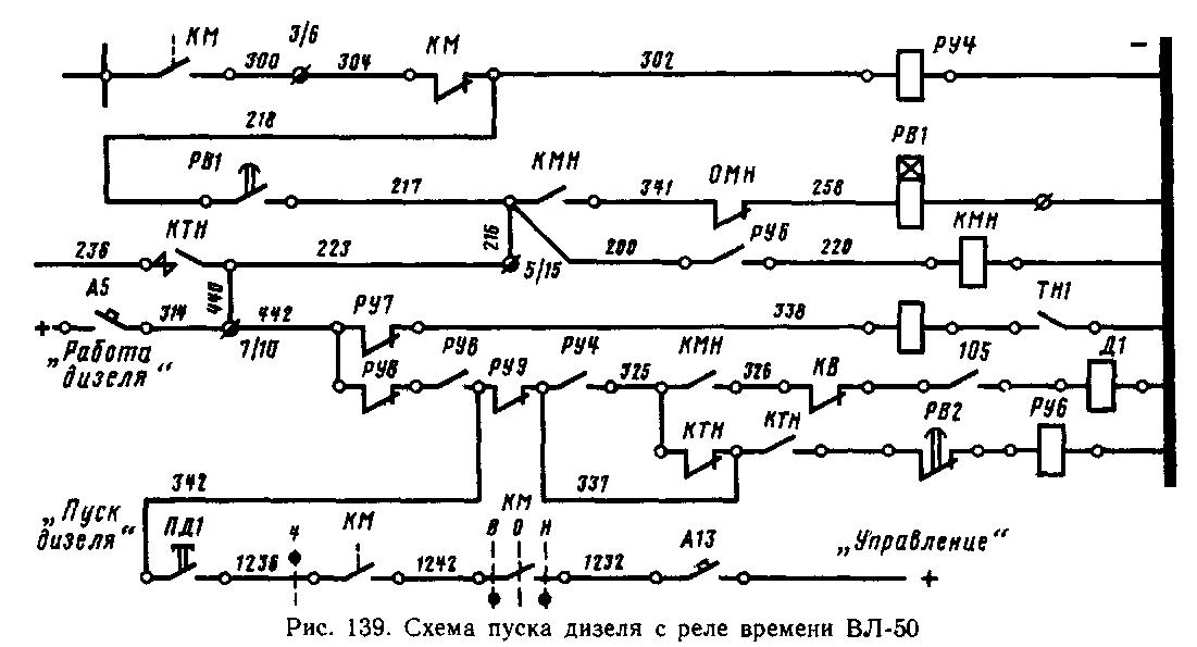 Аварийные схемы 2тэ10м