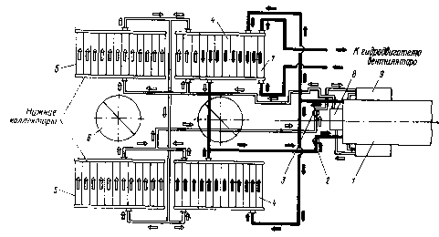 Схема охлаждающего устройства